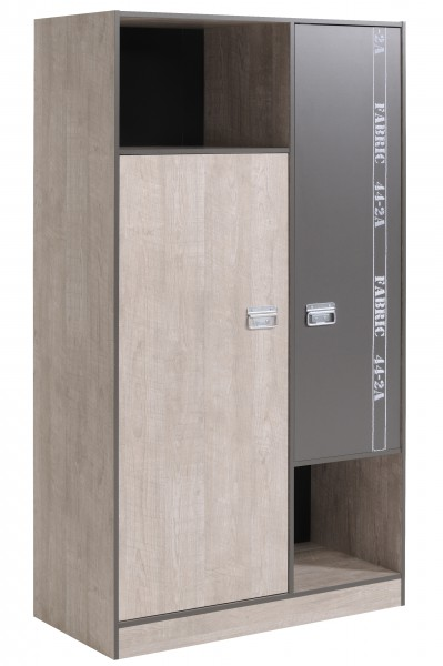 Parisot Kleiderschrank Fabric 101 cm Fabric 6